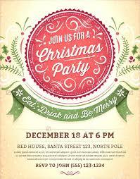 Printable Christmas Flyers Free Printable Christmas Invitations Party Invitation Templates Free