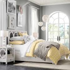 Image Cream Light Yellow Bedding And Grey Walls Decor Ideas Too Teen Bedroom Furniture Pbteen Pinterest Color Combination Is Pretty Light Yellow Bedding And Grey Walls