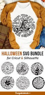 Candy corn princess svg | cute halloween svg for girls. Bundle Halloween Thanksgiving Typography Svg 829260 Svgs Design Bundles In 2020 Cricut Halloween Halloween Vinyl Cricut