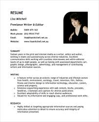 Freelance Writer Resume Objective Freelance Writer Resume Sample Gfyork Com Shalomhouseus 13