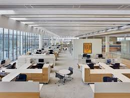 private office design. in lieu of private offices areas dubbed u201cneighborhoodsu201d within the open office feature design