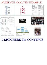 audience analysis example audience analysis example school public speaking pinterest