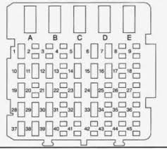chevrolet lumina (1997) fuse box diagram auto genius 1989 Regal Commodore at Regal Commodore Fuse Box