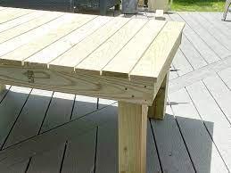 easy diy outdoor coffee table build