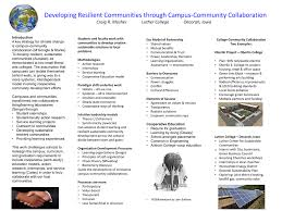 Developing Resilient Communities Through Campuscommunity