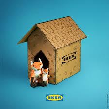 Flatpack House Upcycle Your Old Ikea Cardboard Flatpacks