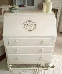 shabby chic style furniture. Parisian Style Shabby Chic Oak Bureau Furniture