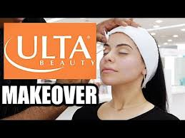 i got my makeup done at ulta and