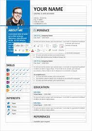 Stylish Resume format Beautiful Bayview Stylish Resume Template