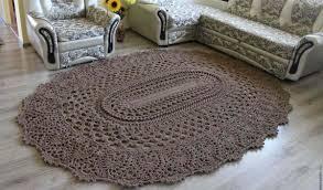 Crochet Oval Pattern Interesting Design
