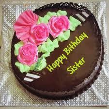 Birthday Cake Sister Name Photo Editing Birthdaycakeformancf
