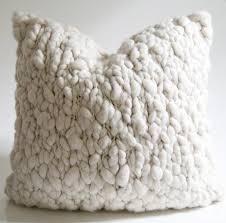 wool throw pillows. Interesting Pillows Clouds Chunky Wool Throw Pillow On Pillows