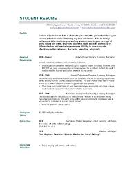 Nursing Graduate Resume Sample Resume For Newly Graduated Student Williamson Ga Us