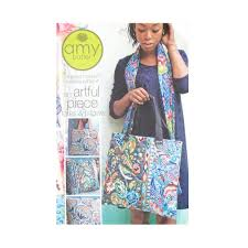 Amy Butler Patterns Cool Amy Butler Artful Piece Tote Pillow Pattern Discount Designer
