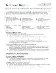 Sample Resume For Literacy Teacher Your Prospex