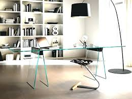 Modern Desks For Home Office Glamorous Contemporary Pretty Desk Designing An Space