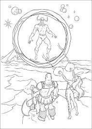 Kids N Funcouk Make Personal Coloring Page Of Thor Coloring Page