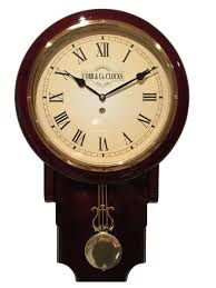 cobb co pendulum clock mahogany