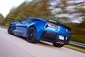Corvette chevy corvette 2016 : 2016 Chevrolet Corvette Z06 Blue Metallic Back – Mustcars.com