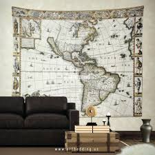 astounding self adhesive wall murals applied to your home decor wall hanging world map mural