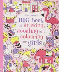 big book of drawing doodling colouring for s usborne drawing doodling and colouring 9781409563884 amazon books