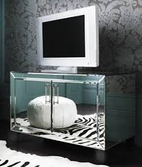 mirrored media cabinet. Isabelle Mirrored Media Cabinet With