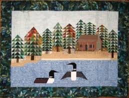 Loon Quilt | Quilting | Pinterest | Bird quilt, Quilted wall ... & Loon Quilt Adamdwight.com