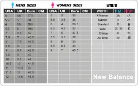 New Balance Women S Clothing Size Chart New Balance 574 Size Guide