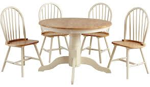 table and 4 chairs. yvette circular dining table and 4 chairs - oak effect cream | tables \u0026 george at asda