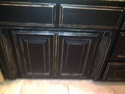 awesome black distressed cabinets on rta kitchen cabinets