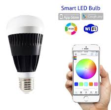 iphone controlled lighting. Flux WiFi Smart LED Light Bulb - Compatible With Alexa, Google Home Assistant \u0026 IFTTT Iphone Controlled Lighting L