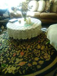 beautiful round solid oak coffee table for in vancouver wa offerup