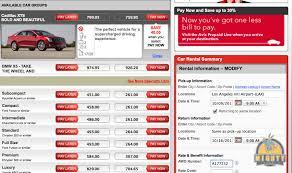 Lowest Rental Car Rates Lax