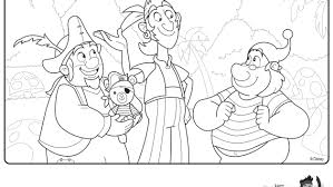 jake and the neverland pirates coloring pages ngbasic com