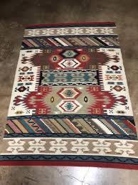 regional southwestern vintage indian style weaving rug great provenance