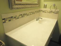Affordable Bathroom Tile Affordable Bathroom Vanity Backsplash Flagallerybath And