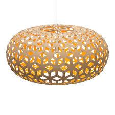 plywood lighting. Pendant-light-shade-bamboo-plywood-wood-lighting-snowflake- Plywood Lighting D
