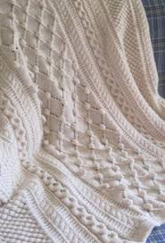 Afghan Knitting Patterns Best Diamonds And Bobbles Afghan Knitting Patterns And Crochet Patterns