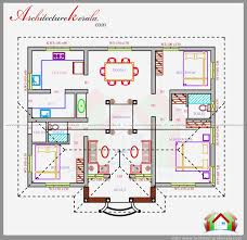 150 Sq Ft Three Bedrooms In 1200 Square Feet Kerala House Plan House