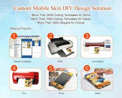 china sticker printing machine mobile prink cell