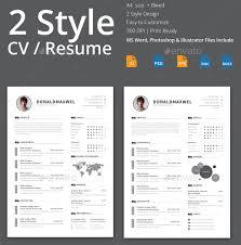 Resume Plantilla
