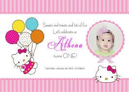Hello Kitty Party Invitation Download Free Template Hello Kitty Printable Birthday