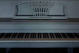 my piano in my new home