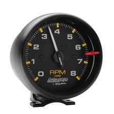 how to install an rpm gauge auto meter 2300 gauge tach 3 3 4 8 000 rpm pedestal black dial auto