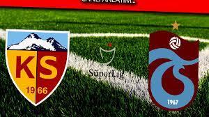 Trabzonspor şiddetli Kayserispor deplasmanında - Haberom