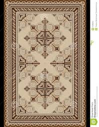 carpet pattern design. Oriental Pattern For Light Carpet With Beige And Brown Shades Design N