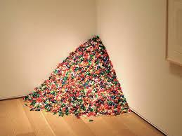 """Felix Gonzalez-Torres, """"Untitled"""" (billboard of an empty bed ..."""