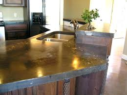 unique cement countertops pros and cons and concrete countertops kitchen concrete for the kitchen a solid attractive cement countertops