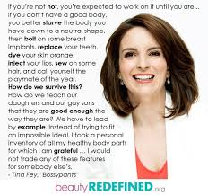Beauty Redefined Quotes Best Of Tina Fey Quote About Confidence Beauty Redefined Quotes Daily