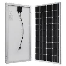 Flames <b>24V</b>/<b>200W</b> Watts Monocrystalline <b>Solar Panel</b> | Konga ...